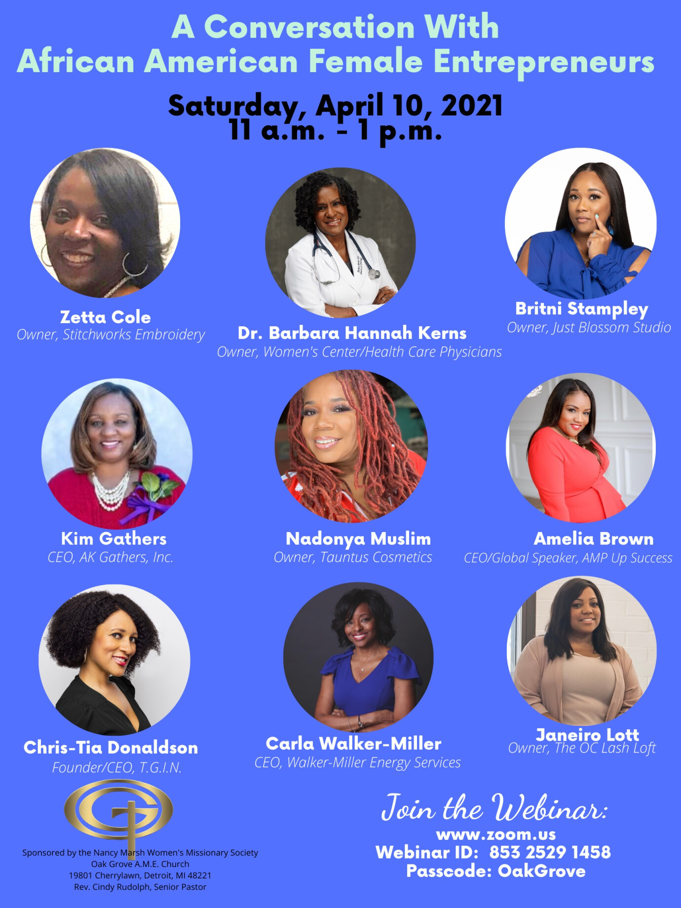 A Virtual Conversation with African American Female Entrepreneurs