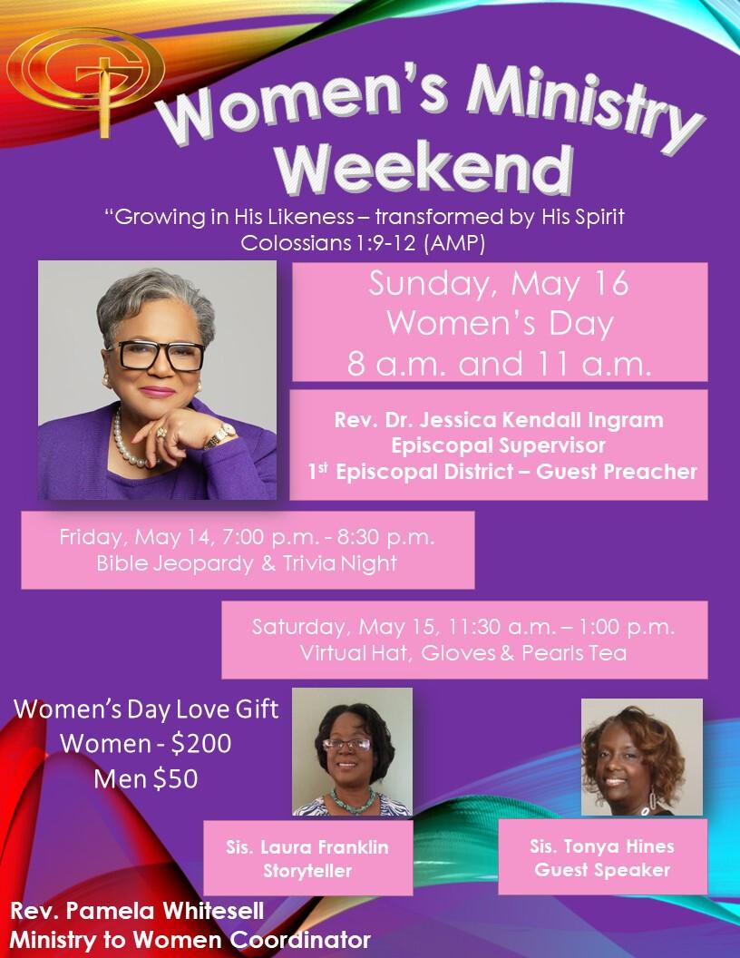 Virtual Women's Season Weekend - May  14 - 16, 2021